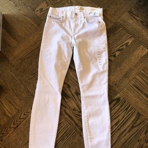 Brand new, never worn white GAP jeans